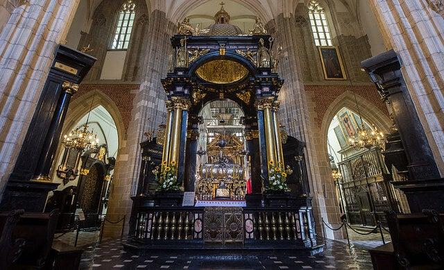 Capilla de San Estanislao en la catedral de Wawel