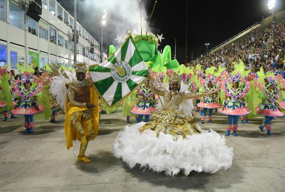 5 curiosidades del desfile del carnaval de Río de Janeiro