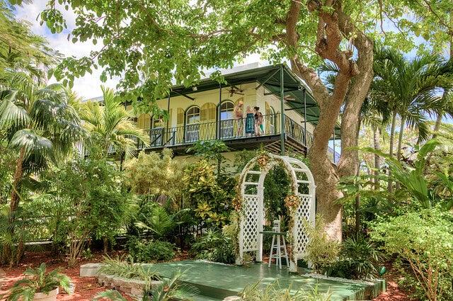 Exterior de la casa de Ernest Hemingway
