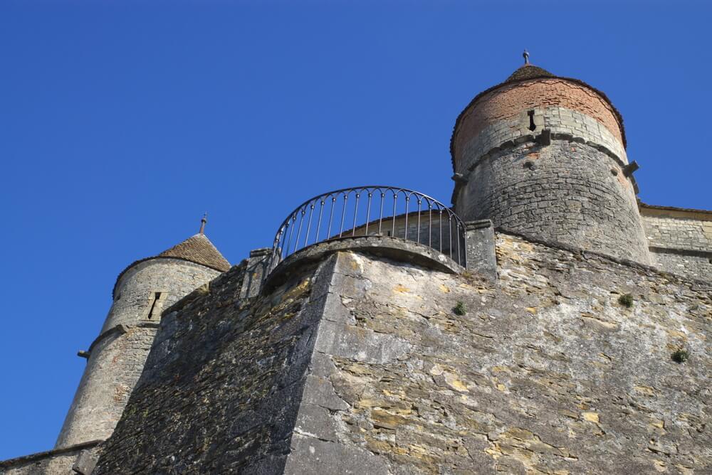 Torres del castillo de Grandson