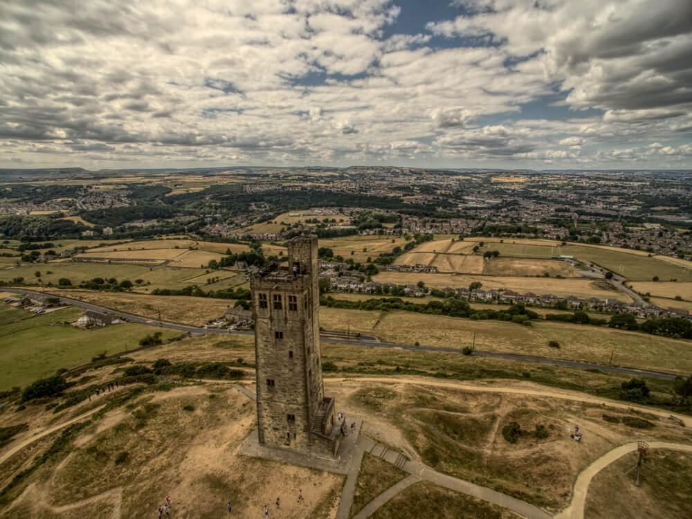 Castle Hill en Huddersfield