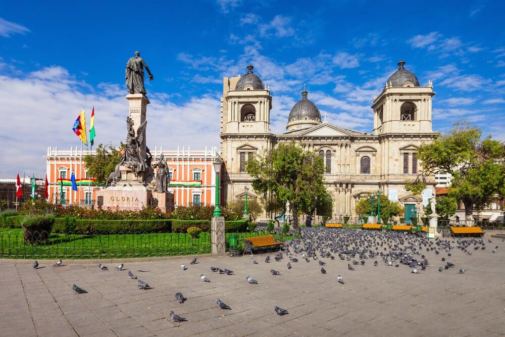Catedral Metropolitana de La Paz en Bolivia