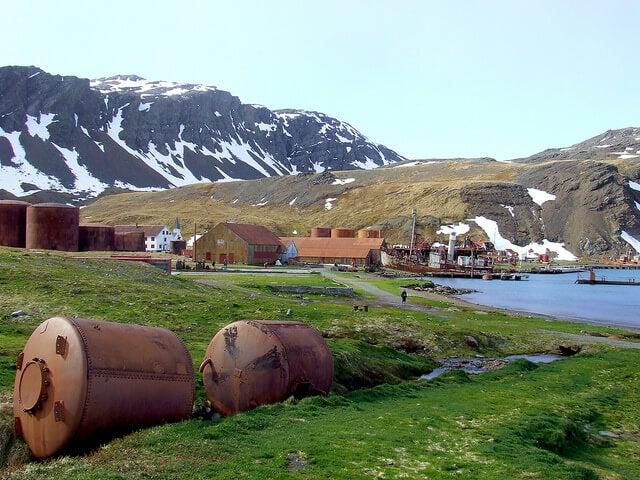 Vista del complejo de Grytviken