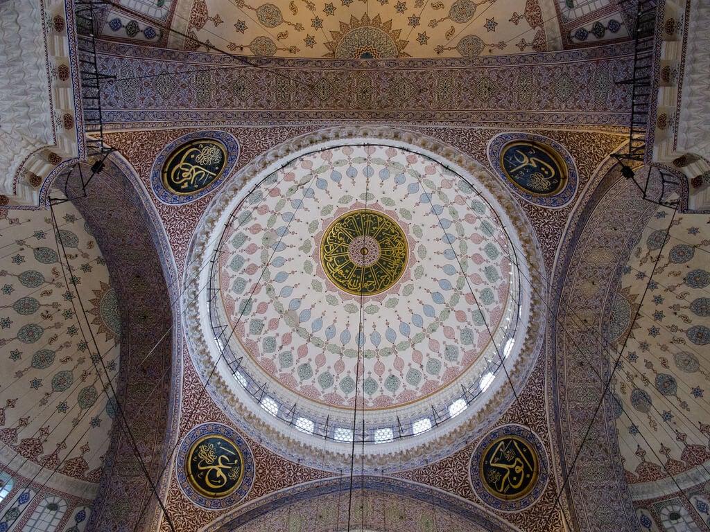 Cúpula de la Mezquita Nueva de Estambul