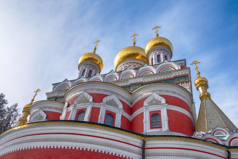 Cúpulas de la iglesia-memorial de Shipka