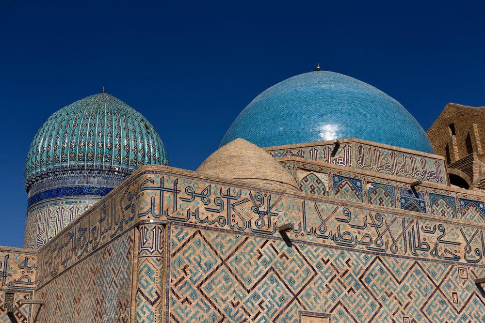 Cúpulas del mausoleo