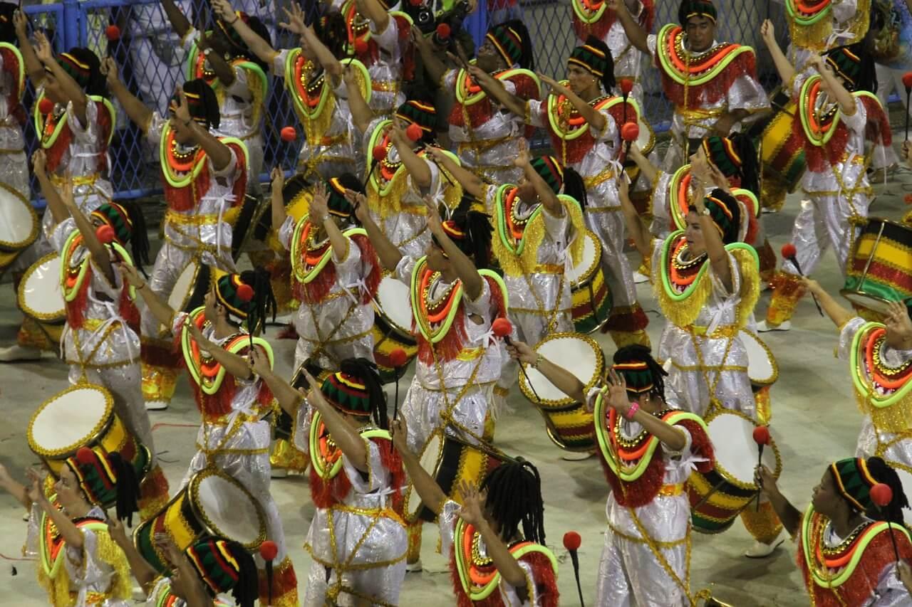 Desfile del carnaval de Río de Janeiro
