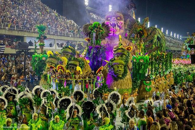 Desfile del carnaval en Río de Janeiro