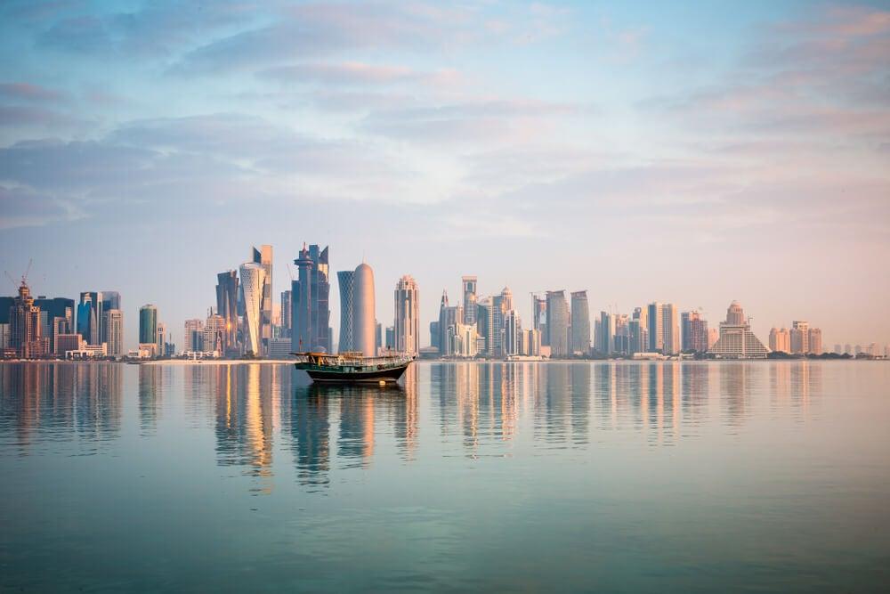 Vista de Doha desde la Corniche