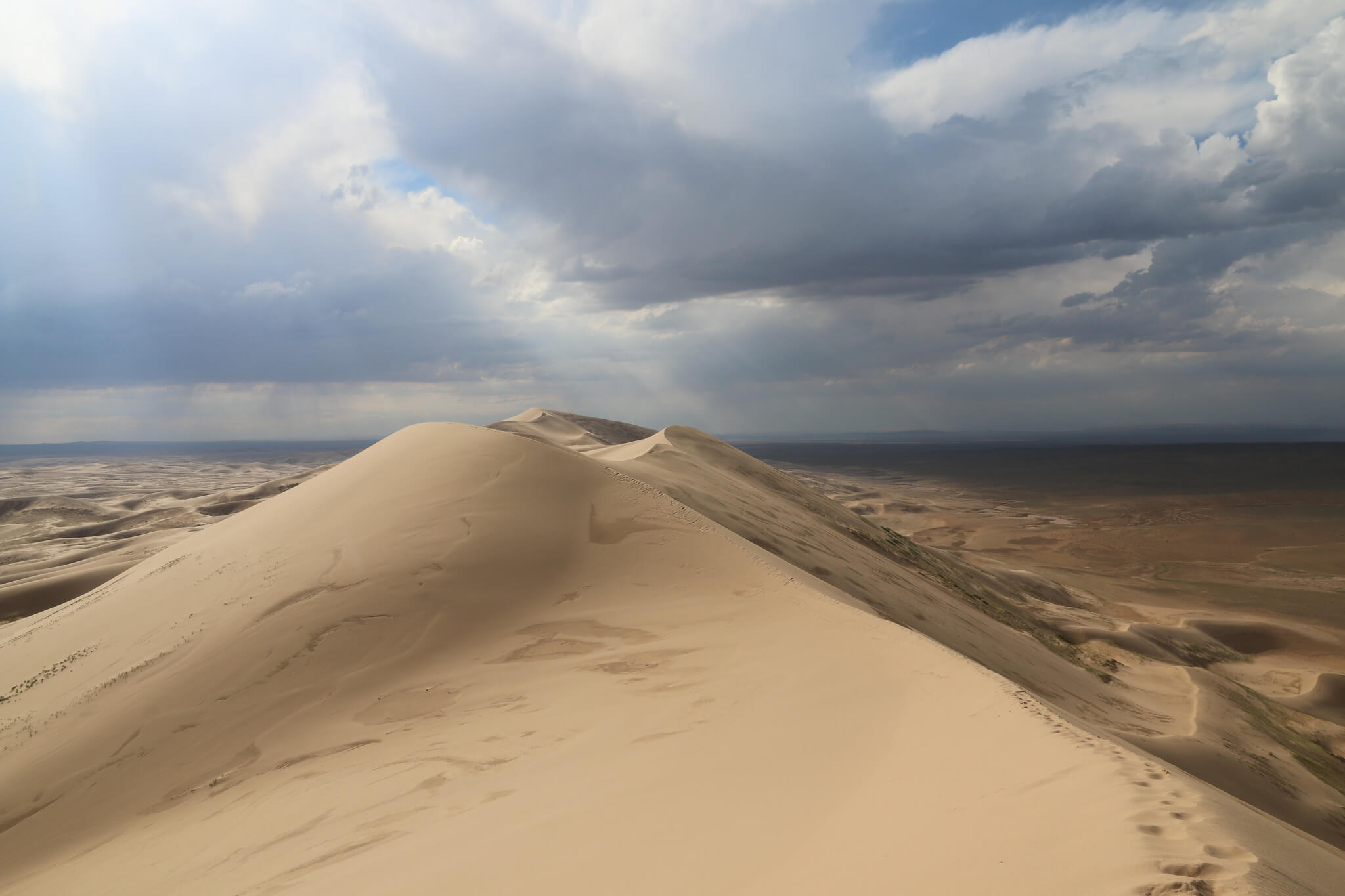Vista de las dunas de Khongoryn Els