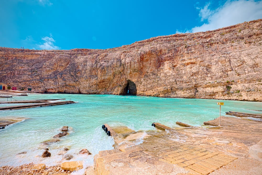 Acantilados en Dwejra, Gozo