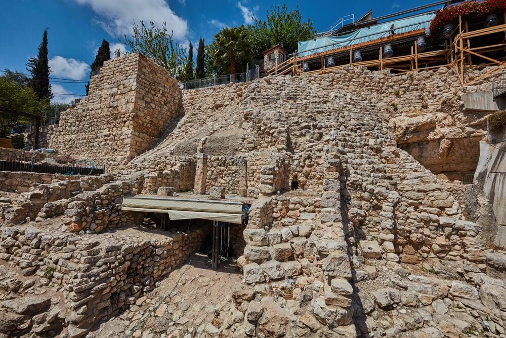 Excavaciones en la Ciudad de David