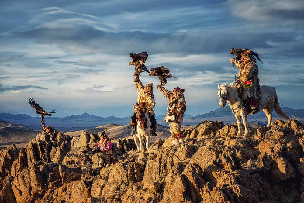 Tribu en Mongolia