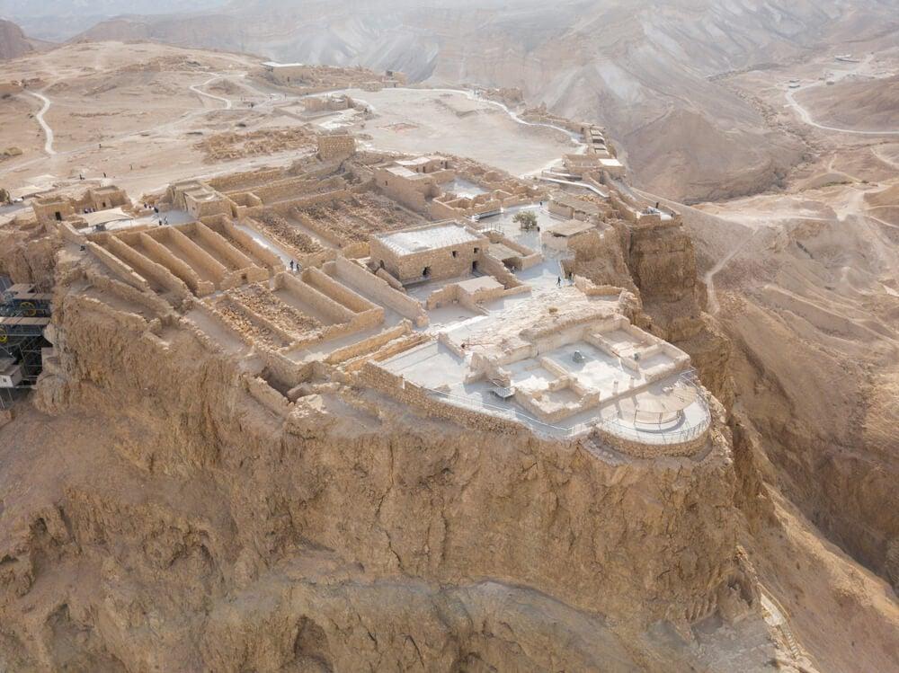 Masada, una fortaleza símbolo de resistencia