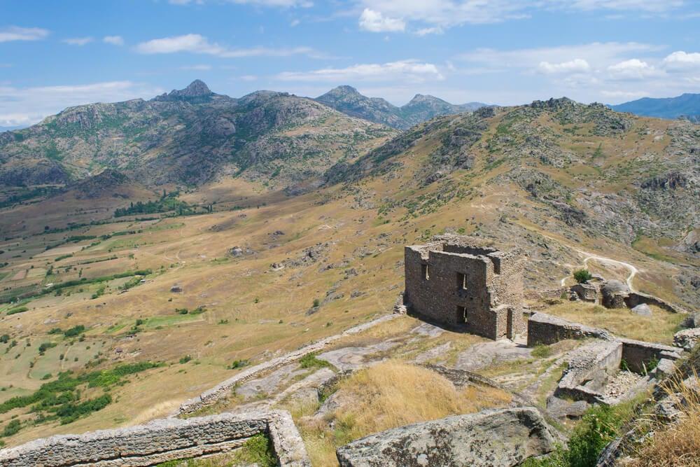 La fortaleza de Marko de Prilep, en Macedonia