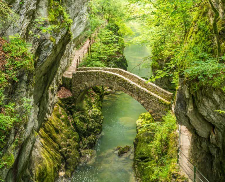 La garganta de Areuse, un tesoro escondido en Suiza