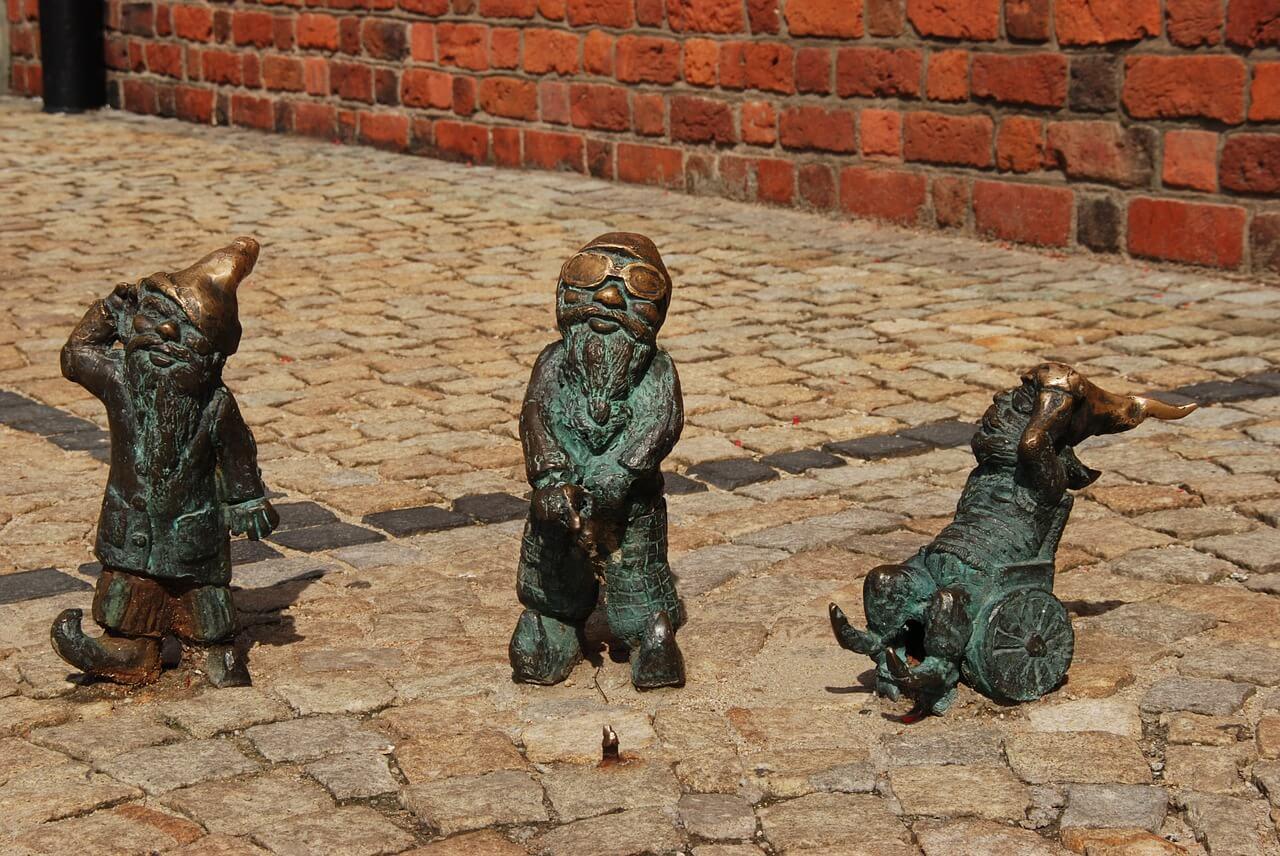 Gnomos en Wroclaw