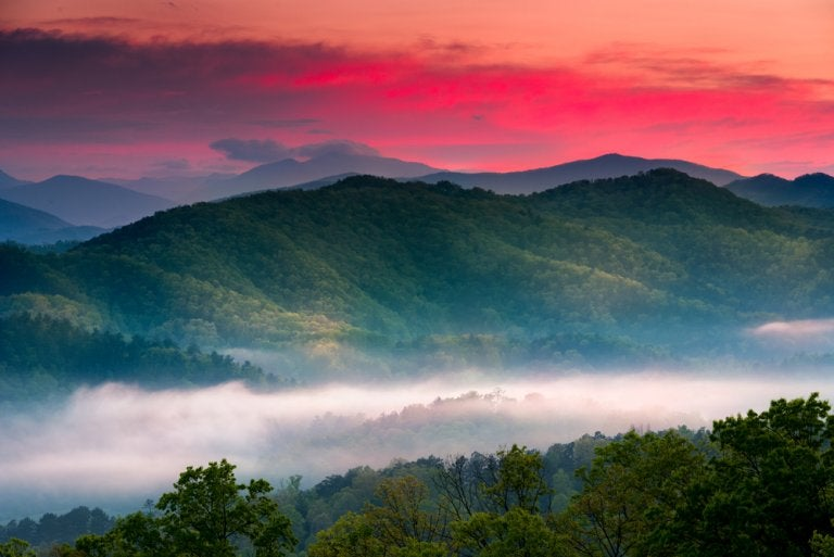 Great Smoky Mountains, un lugar mágico en Estados Unidos