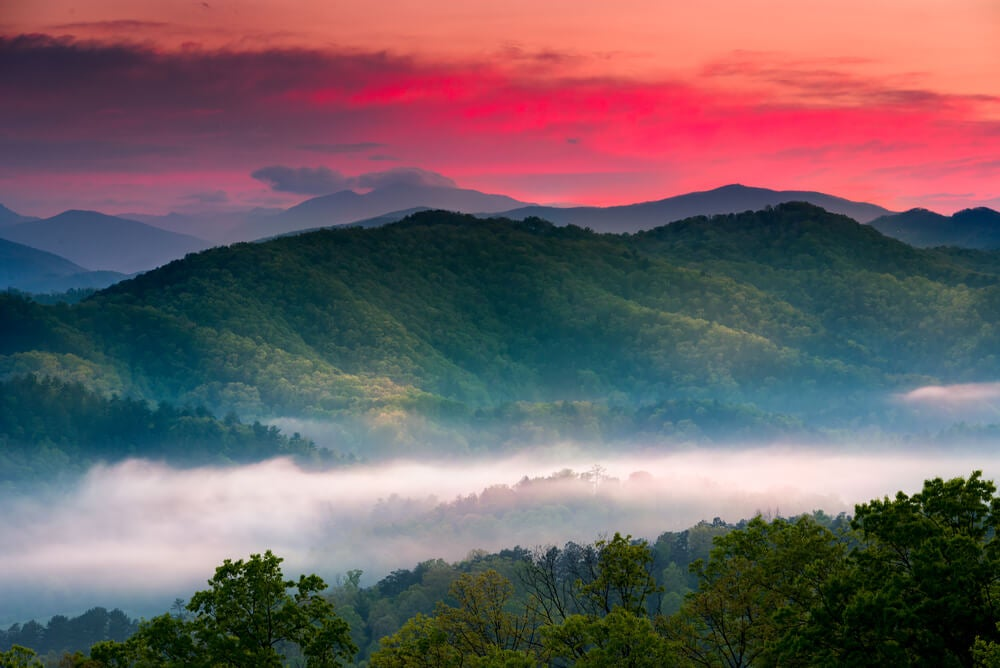 Great Smoky Mountains, un lugar mágico en Estados Unidos