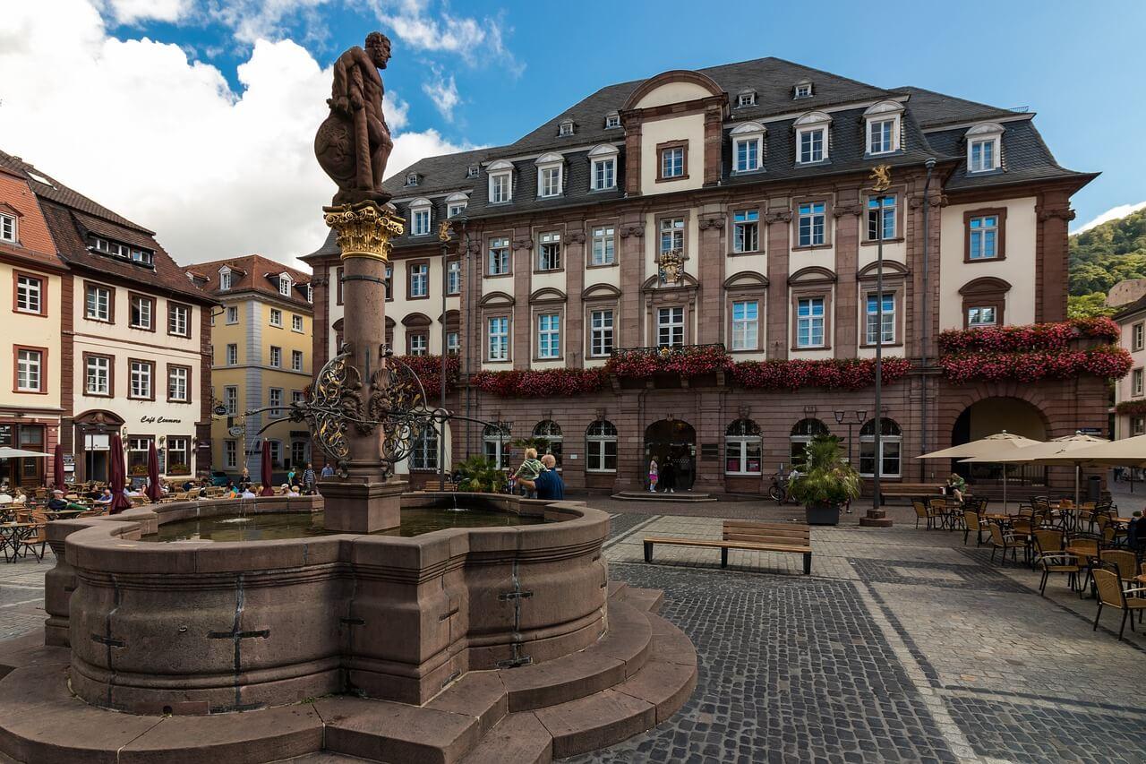 Plaza del Mercado de Heidelberg