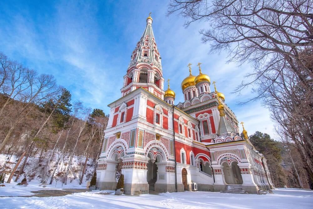 Historia de la iglesia-memorial de Shipka