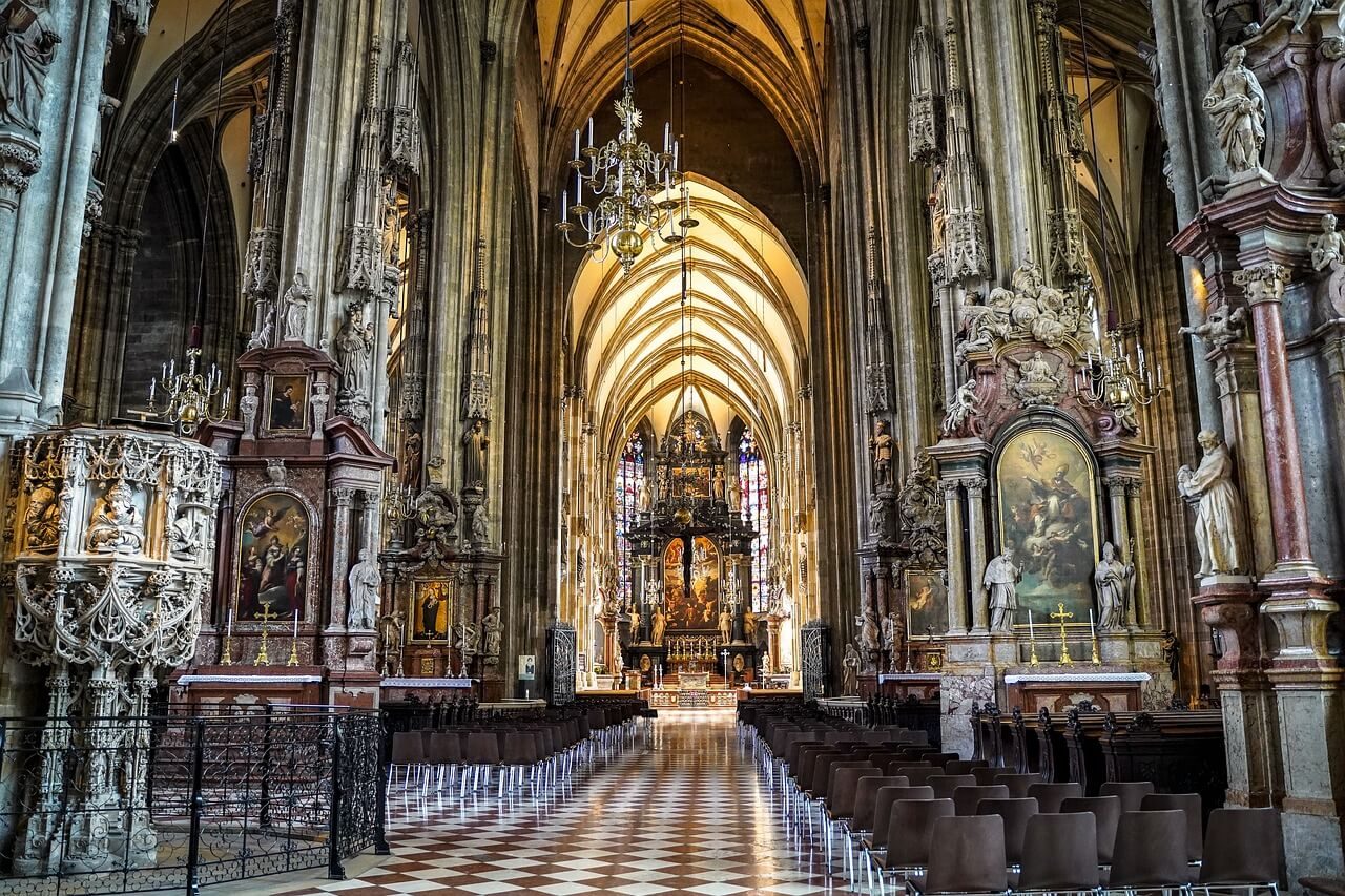 Interior de la catedral de San Esteban de Viena