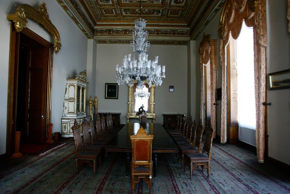 Interior del palacio de Beylerbeyi