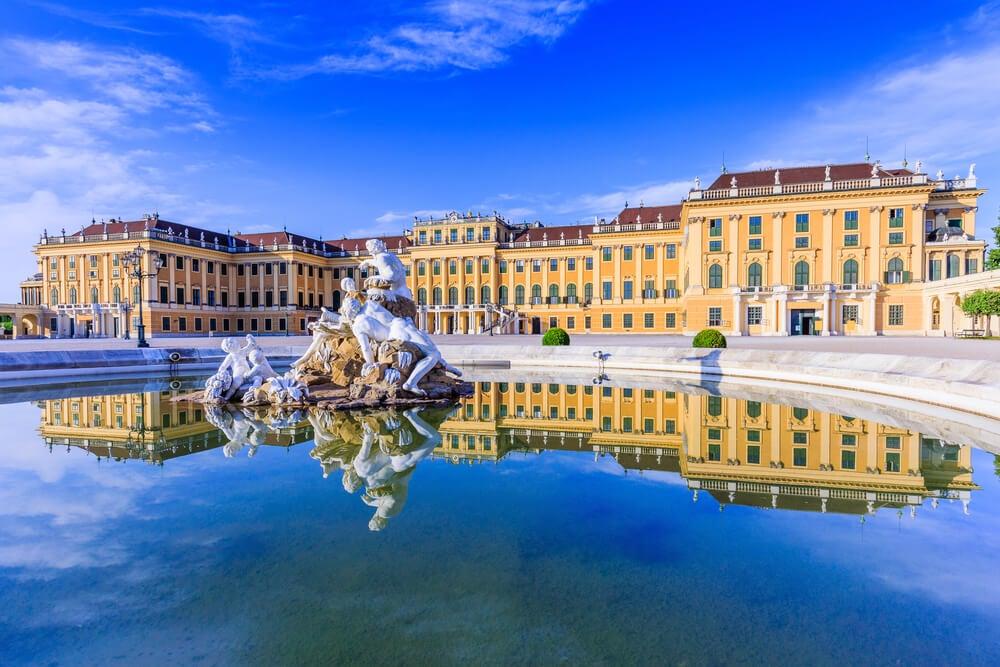 Jardines del palacio de Schonbrunn
