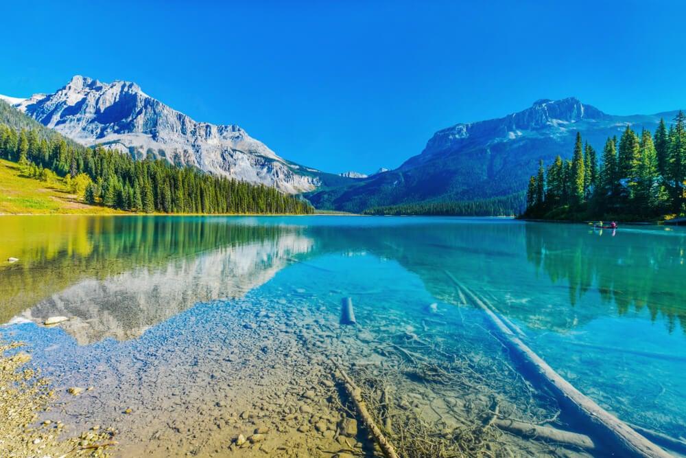 Lago Esmeralda en el Parque Nacional Yoho