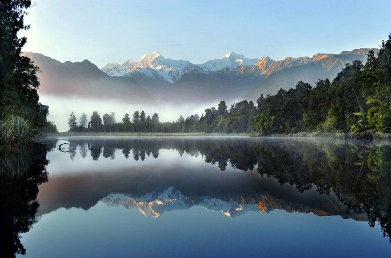 El lago Matheson: un lugar mágico para visitar