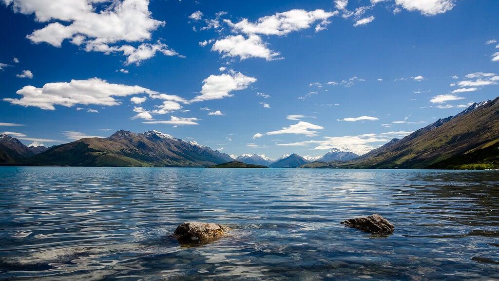 Lago Wakatipu en Queenstown