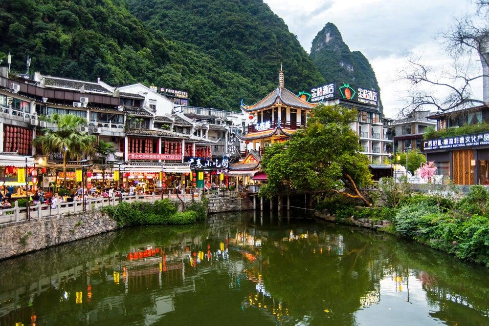 Lago de Yangshuo