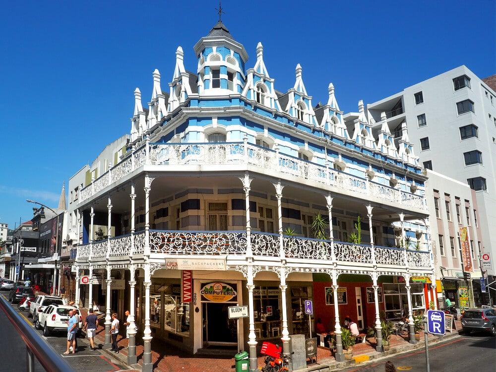 Edificio en Long Street en Ciudad del Cabo