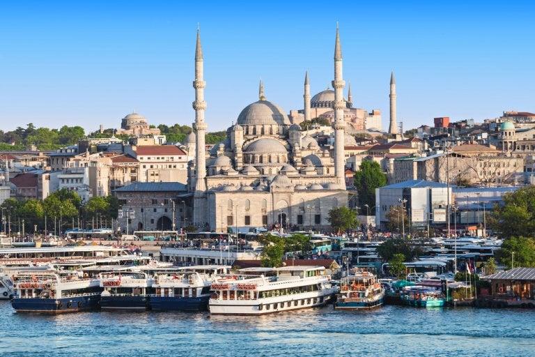 Visitamos la Mezquita Nueva de Estambul