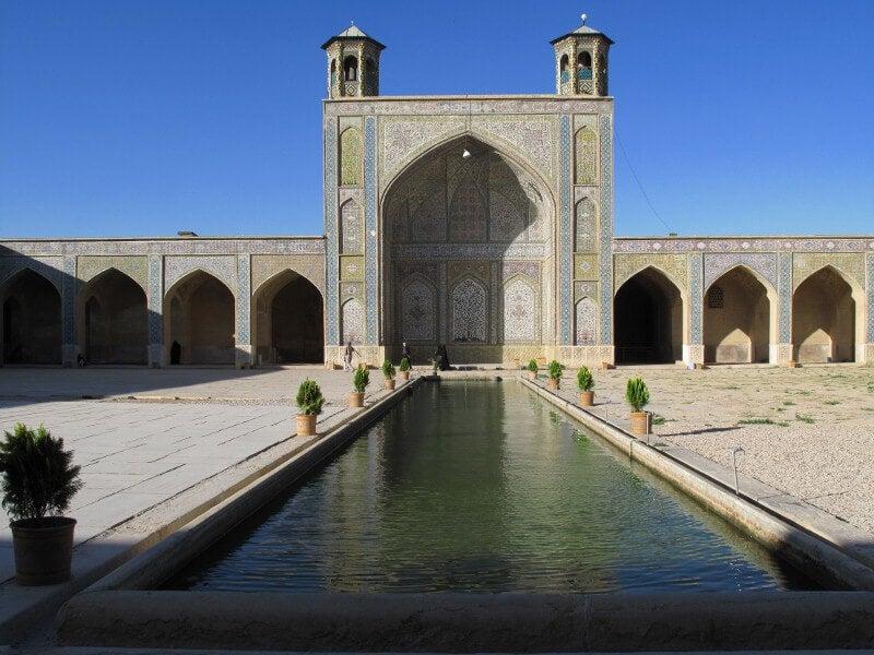 Mezquita de Vakil en Shiraz