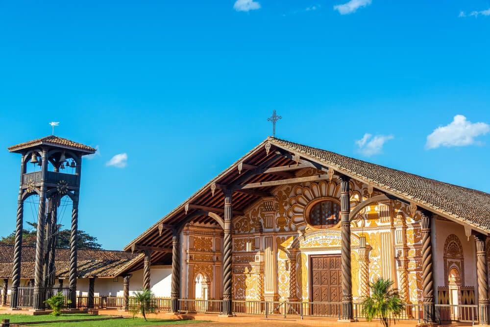 Misiones de Chiquitos en Santa Cruz de la Sierra, Bolivia
