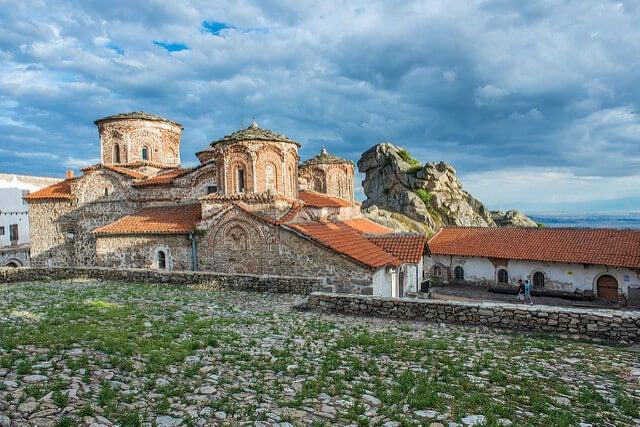 Monasterio de Treskavec en Prilep