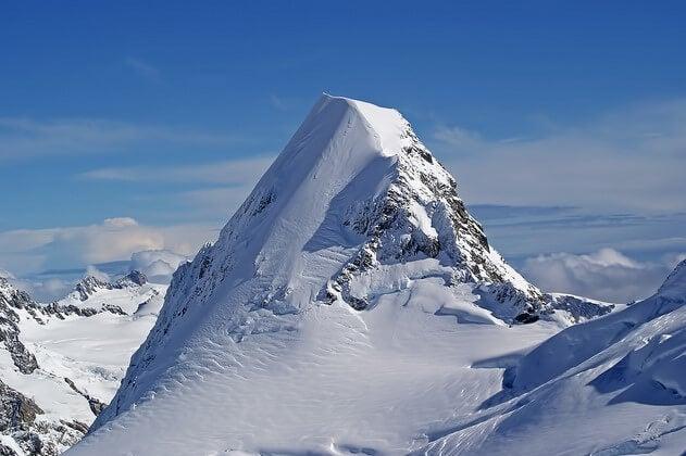 Vista de la cúspide del monte Cook