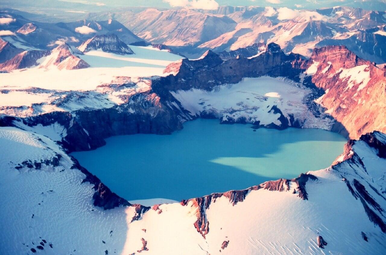 Vista del monte Katmai