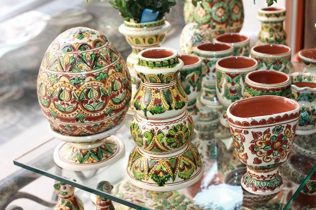 Objetos de cerámica