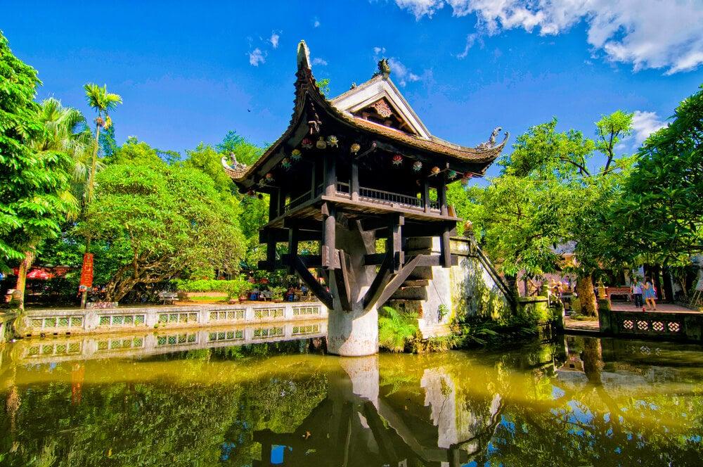 Pagoda del Pilar Único en Hanoi