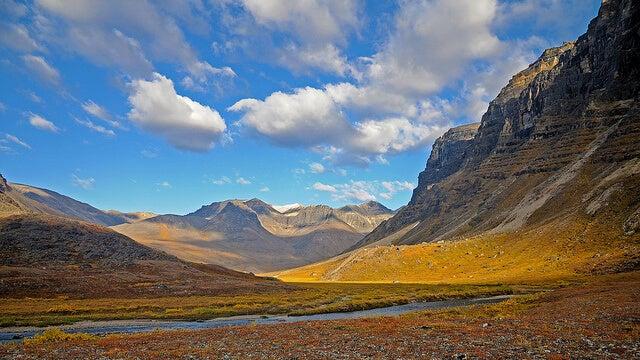 Paisajes del Parque Nacional Gates of the Arctic
