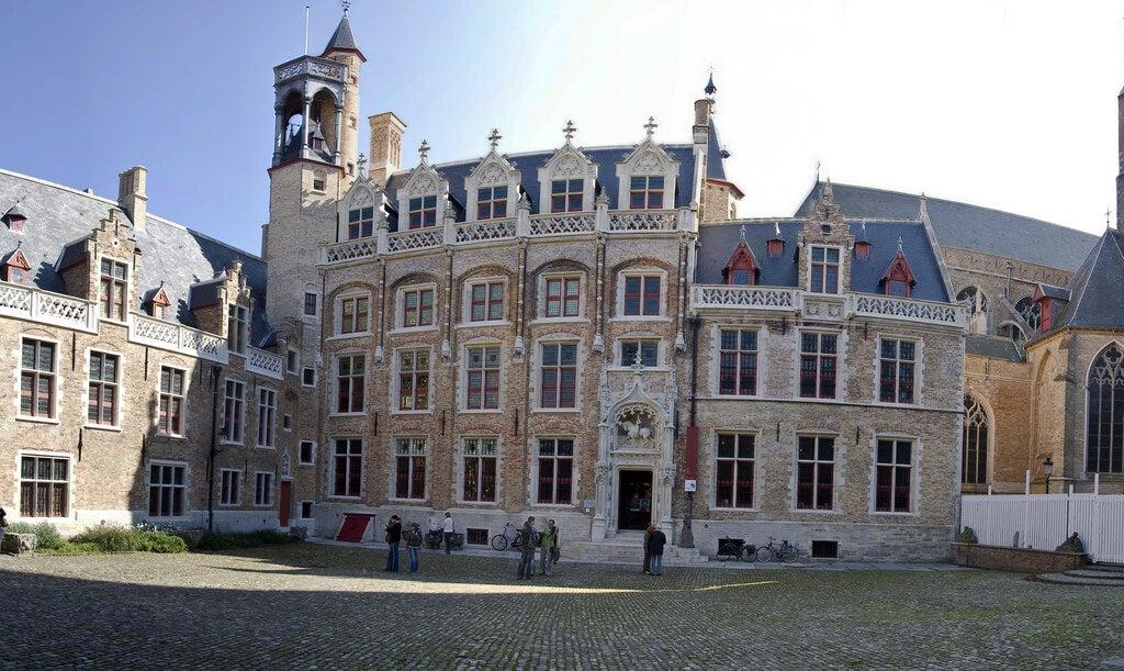 Palacio de Gruuthuse en Brujas