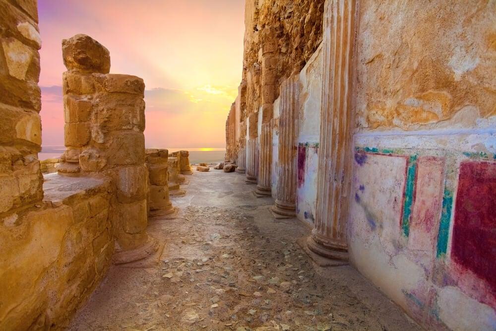 Palacio de Herodes en Masada