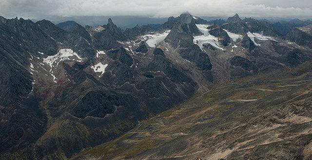 Montañas del Parque Nacional Gates of the Arctic