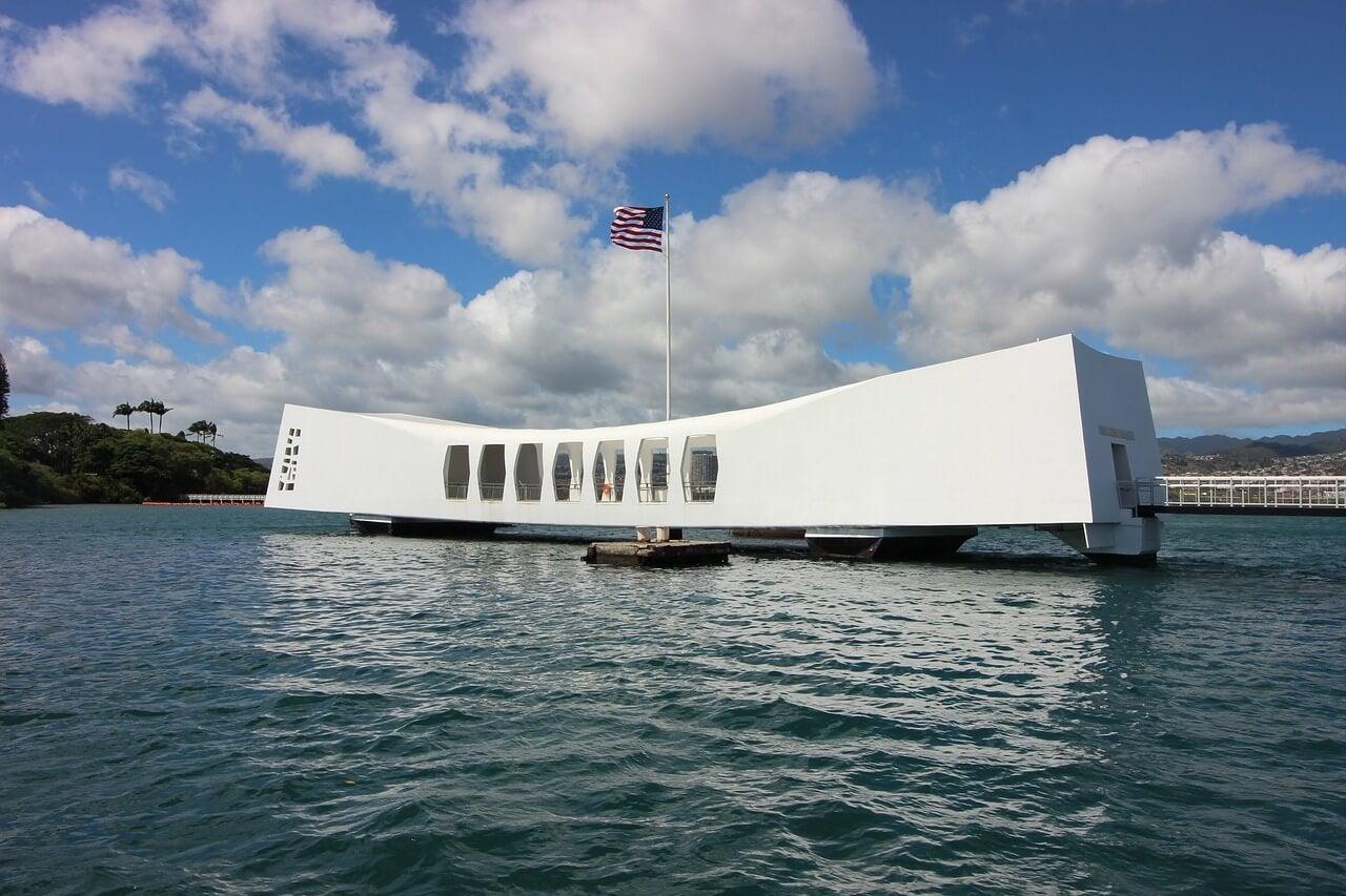 Plataforma del USS Arizona Memorial