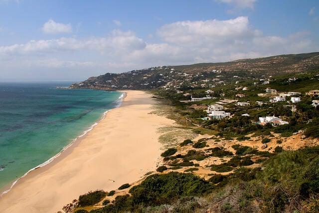 Playa de los Alemanes en Cádiz