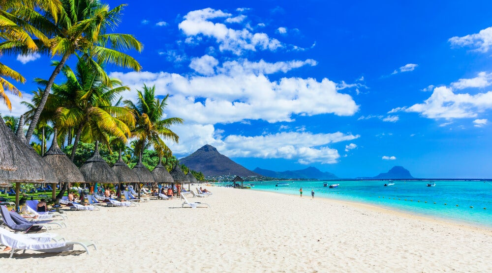 Disfruta de la playa de Flic en Flac en Mauricio