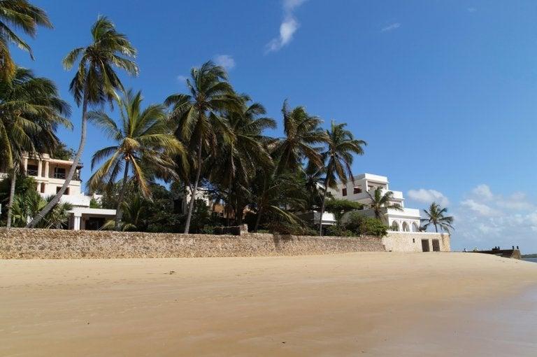 Explora las hermosas playas de la isla de Lamu