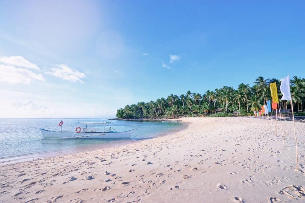 Playa en Siargao